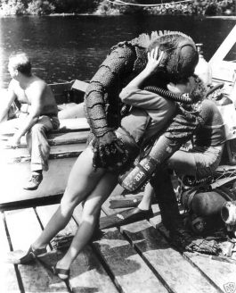 Historic Photo – Creature from the Black Lagoon